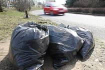 Pytlový svoz by měl ulehčit veřejným odpadkovým kočům.