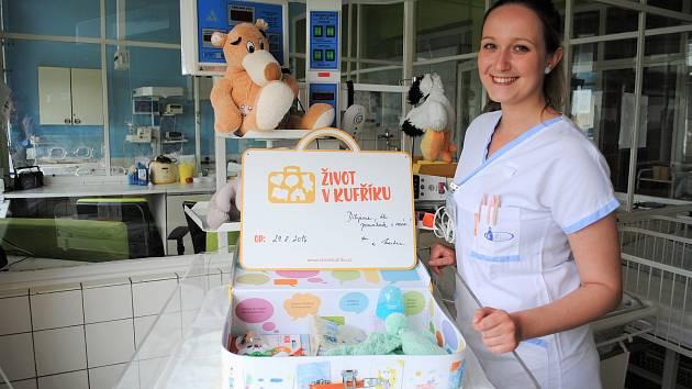 Oblastní nemocnice Kladno podporuje projekt Život vkufříku.