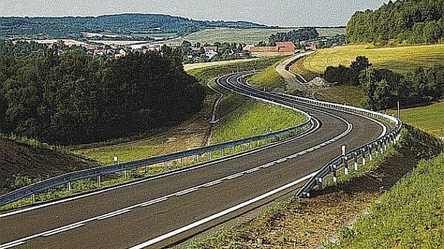 Takto podobně jako přeložka silnice Velvar - Nová Ves by mohl vypadat i obchvat Slaného. Kdy to bude, je ve hvězdách.