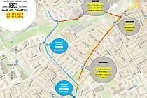 Změna trasy linky 605 MHD Kladno.