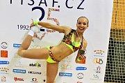 Andrea Švihálková na šampionátu.
