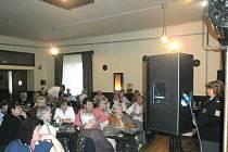 O BESEDU byl velký zájem. Policejní rady si přišlo poslechnout osmašedesát členek  Českého svazu žen ve Švermově.