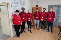 Farní charita Slaný společně s dobrovolníky.