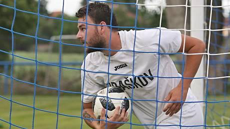 Jakub Jaroš dal už v Tuchlovicích svůj první gól.