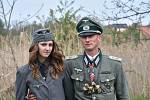 Rekonstrukce bojů z konce II. světové války. Rudá armáda opět osvobodila Brandýsek, k vidění byly téměř dvě stovky vojáků.