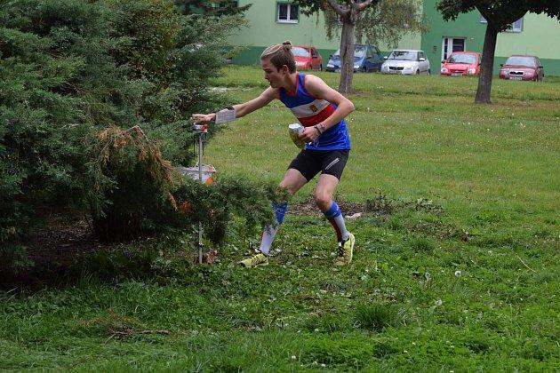 Orientační závod na Stochově.