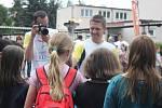 Běh harmonie se na své trase zastavil také v Kladně.