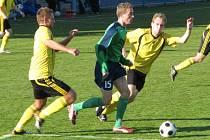 Slánský Volf (vpravo) dal dva góly.