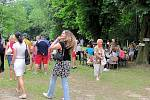 Příjemné sobotní odpoledne prožili přítomní na party - Plamínkové slavnosti v Ledcích Šternberku.