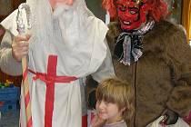 Děti navštívil Mikuláš