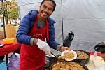 Šneci, červi nebo krokodýlí maso. Každému podle jeho gusta. I to je kulinářský festival.