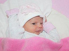 Alice Frantová, Kačice. Narodila se 18. února 2014. Váha 2,6 kg, míra 47 cm. Rodiče jsou Agáta Jelínková a Tomáš Franta (porodnice Kladno).