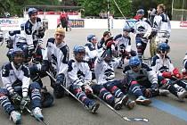 Radost dorostenců Alpiqu po druhém finálovém utkání.