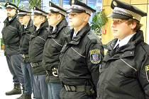 Slib nových strážníků Městské policie Kladno.