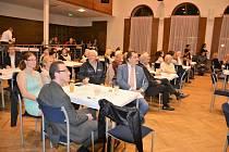 Setkání partnerských měst v Městském centru Grand ve Slaném.