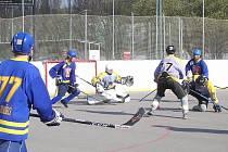 Strašecí je semifinále play-off ČNHbL.