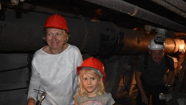 Letošní Den horníků se konal v sobotu v Hornickém skanzenu Mayrau ve Vinařicích.