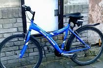 Ukradené kolo bylo vráceno zpět majiteli.