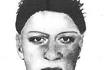 Počítačově vytvořený portrét násilníka.
