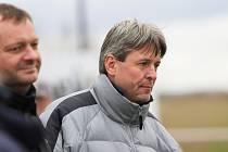 Vlastimil Hrubý, už bývalý trenér Čechie Velká Dobrá.