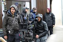 Natáčení ve Velvarech - film Krycí jméno Holec