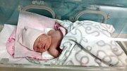 NICOL MACHOVÁ, KLADNO. Narodila se 9. ledna 2018. Po porodu vážila 3,22 kg a měřila 48 cm. Rodiče jsou Kristýna Machová a Vladimír Mach. (porodnice Kladno)