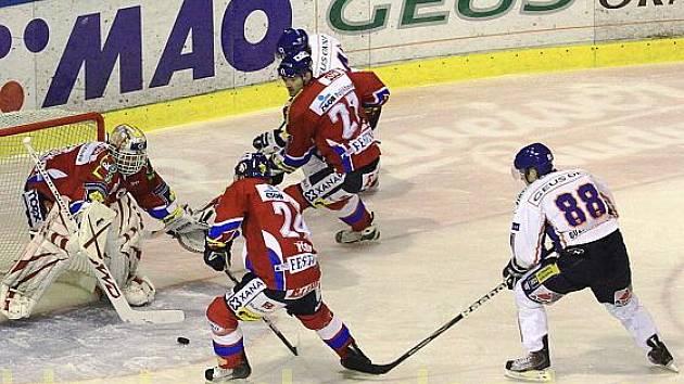 HC GEUS OKNA Kladno - HC Eaton Pardubice  1:2 , 34.k. O2  ELH 2009/10, hráno 23.12.2009