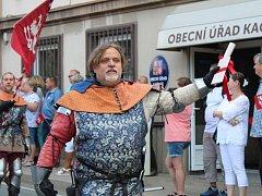 Kačičtí oslavili sedm set let od první písemné zmínky o obci.