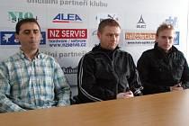Zleva Martin Hřídel, Stanislav Hejkal a Ondřej Szabo.