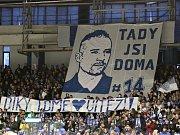 Přivítání Tomáše Plekance na kladenském stadionu