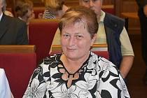 V Kladně ocenili dobrovolné dárce krve. Na snímku Petruše Nyklová ze Hřebče.