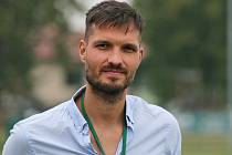 Sokol Hostouň - Baník Sokolov 1:0 / ČFL / 23. 9. 2020, Dominik Rodinger