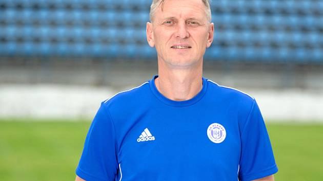 Manažer fotbalového Kladna Petr Brabec.