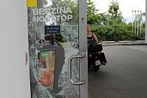 Přepadení na Benzině Plus v ulici Dukelských hrdinů