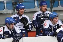 Alpiq Kladno - Jungle Fever 7:0, hokejbalové derby, 21.2.2010