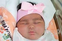 ELIŠKA SIVÁKOVÁ, KRALUPY NAD VLTAVOU. Narodila se 18. září 2020. Po porodu vážila 4,75 kg a měřila 52 cm. Rodiče jsou Sabina Giňová a Tomáš Sivák. (porodnice Slaný)