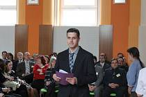 Soutěžní dopoledne končilo vyhlášením vítězů a postupujících prací do celostátní přehlídky Středoškolské odborné činnosti.