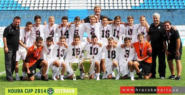 Středočeský výběr vyhrál vOstravě Kouba Cup.