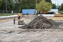 Rekonstrukce vodní nádrže u hřiště v Řisutech přijde na 4 miliony korun.