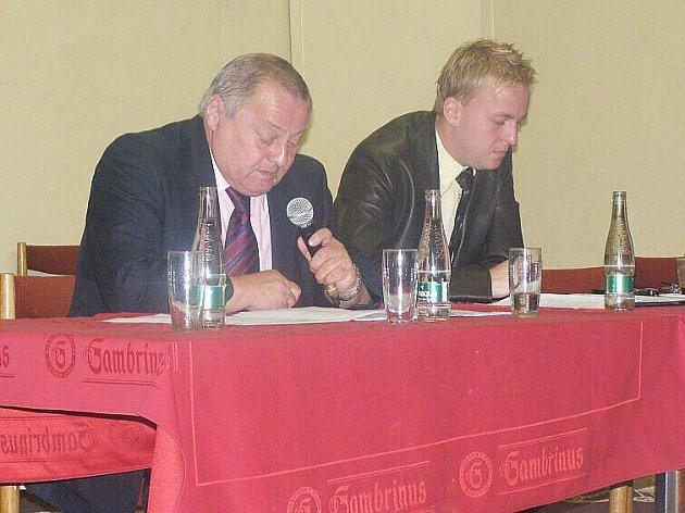 Losovací aktiv OFS Kladno (16.7. 2011), František Běhounek a Petr Blažej