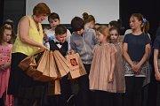 Děti z kroužků Labyrintu předvedly své schopnosti na Jarním kvítku.
