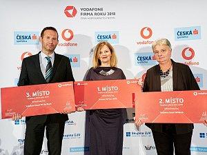 Vodafone Firma roku 2018 a Česká spořitelna Živnostník roku 2018 - Středočeský kraj.