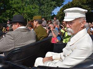 Tatíčka Masaryka doma v Lánech vítaly davy lidí