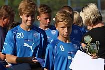 Kladenský fotbalový pohár U15, 25.-26.7.2015