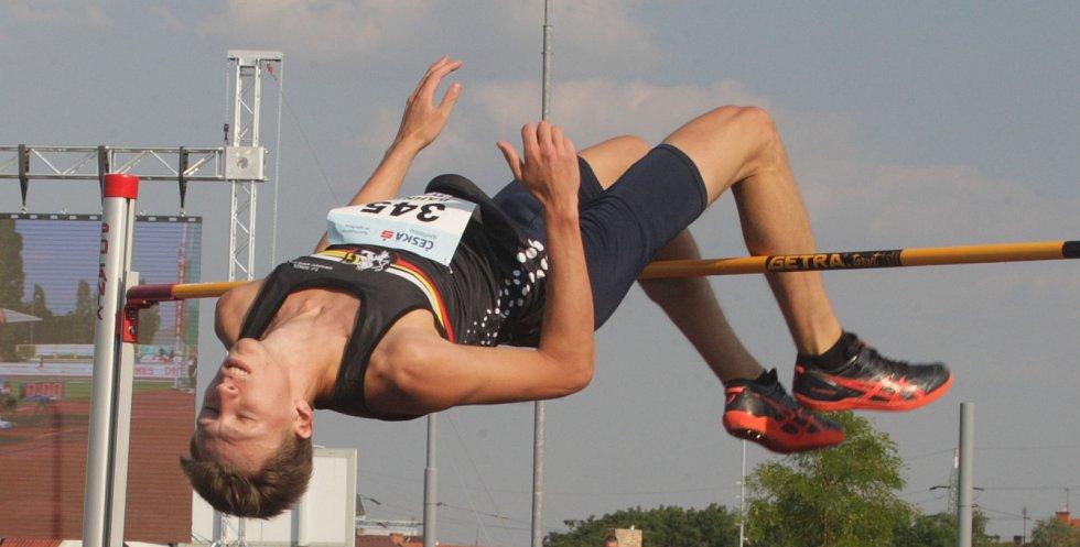Výškař Marek Bahník