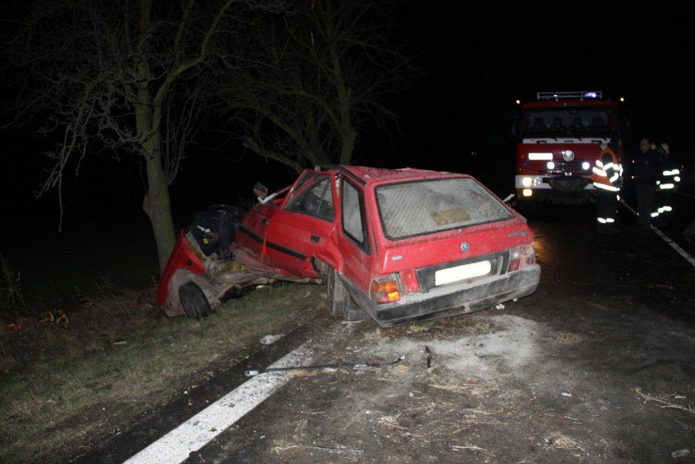Nehoda u Blahotic.