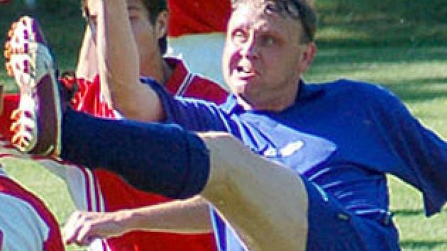 Útočník Pcher Jaroslav Vondrák  je vyhlášeným střelcem.