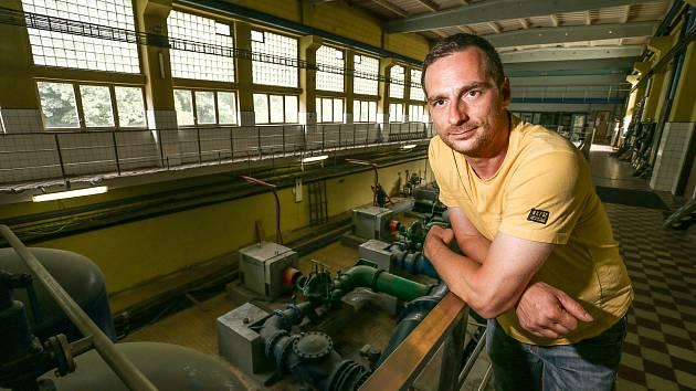 Výroba pitné vody v Mělnické Vrutici