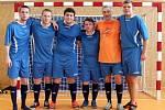 Velký turnaj SKFS rozhodčích se odehrál v Unhošti, vyhrál Mělník. tady tým Příbrami