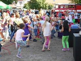 Ikaros fest v Libušíně byl oslavou i beneficí